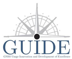 Guide logo blanc