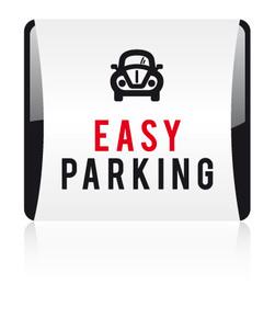 Logo esay parking sans baseline bd